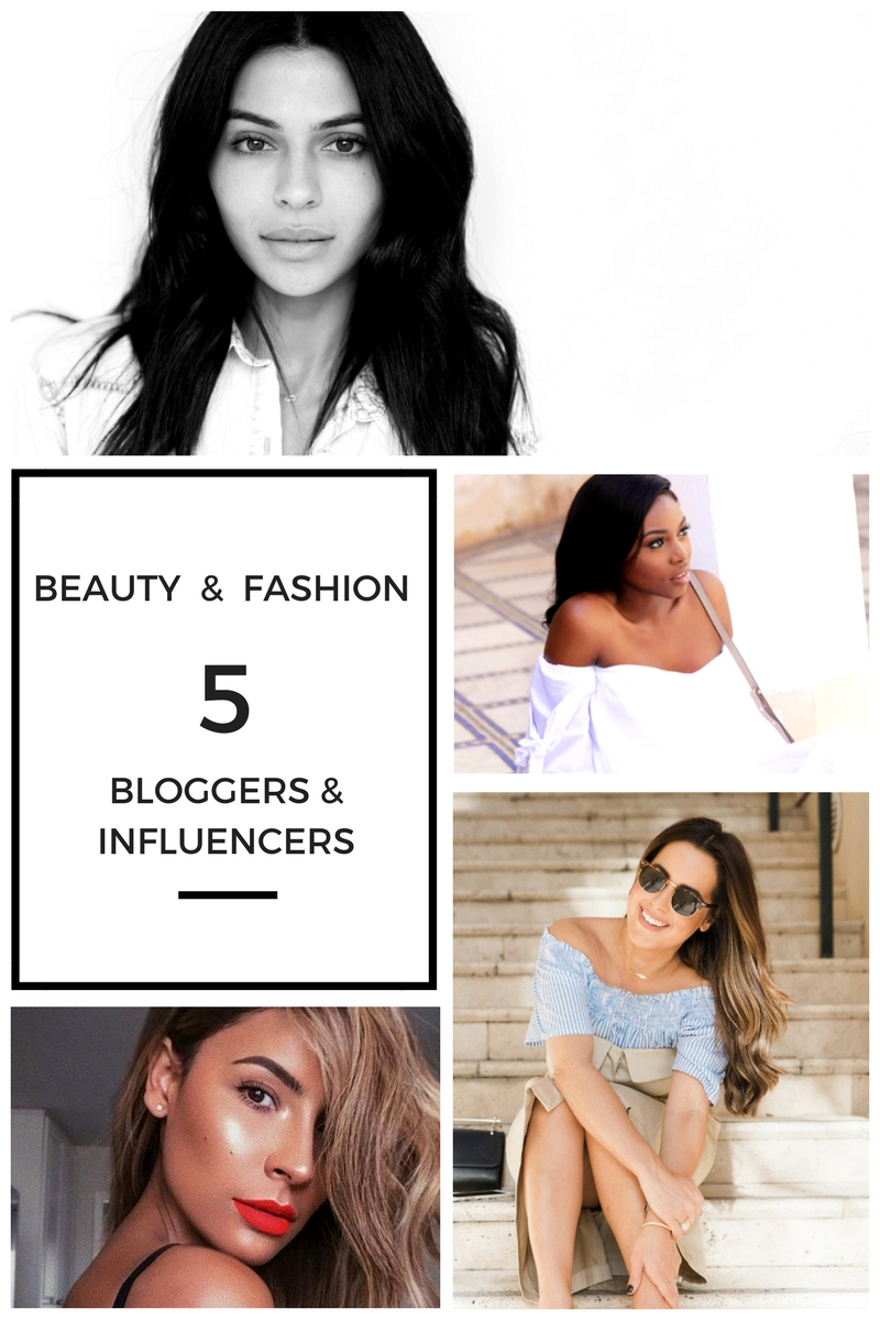 5 BEAUTY AND FASHION BLOGGERS & INFLUENCERS I ADMIRE